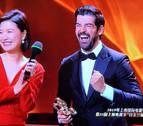 El actor español Miguel Ángel Muñoz, galardonado en China