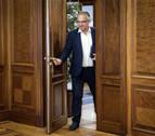 """Enrique Maya: """"Quiero hablar con el PSN para derogar la ordenanza del euskera"""""""