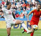 España se mete en octavos del Mundial femenino tras empatar con China