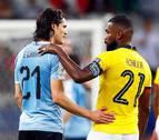 Uruguay golea  Ecuador y Catar rasca un empate con Paraguay