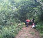 Hospitalizado un montañero en estado grave tras sufrir un golpe de calor en Erratzu