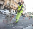 Tudela inicia los trabajos para configurar su nueva red urbana de carriles-bici
