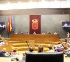 Caducadas 8 proposiciones de ley del Parlamento foral