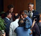 Las claves de una mañana frenética en el Parlamento de Navarra