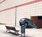 Aparatoso accidente en la Morea
