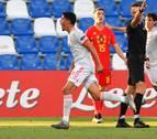 Fornals mantiene a España sub-21 en el Europeo con un gol en el minuto 89
