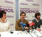 Podemos apuesta por tener consejeros en el próximo Gobierno de Navarra