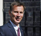 Boris Johnson y Jeremy Hunt se disputarán el cargo de primer ministro británico