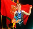 Un oro y dos bronces sénior para Ander Olcoz