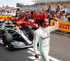 Hamilton mastica la gloria en el centenario de Sainz en el Gran Premio de EE UU