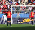 Dos penaltis dejan a España fuera del Mundial ante la campeona