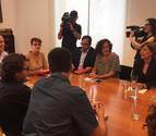 PSN, Geroa, Podemos e I-E empiezan a negociar un acuerdo de gobierno