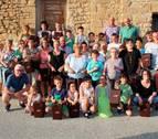 Los alumnos de la Escuela Pública de Ujué enseñan a compostar