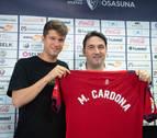 Marc Cardona, ilusionado y responsabilizado en su nueva etapa en Osasuna
