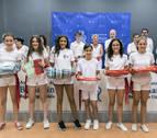 Las niñas, ganadoras en los concursos de carteles de fiestas de Barañáin