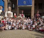 El Día del Niño en Barañáin se inicia con homenaje a los nacidos en el último año