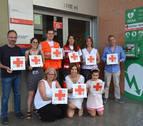 Cruz Roja señaliza sus sedes con pictogramas para personas con autismo
