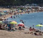 Playas sin contagios: doble pasarela y circular por la derecha en la orilla