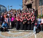 La Coral San Miguel de Aoiz cumple 75 años de música