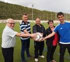 El Club Deportivo Aoiz cuenta con 162 jugadores en sus diez categorías
