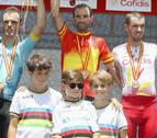 Alejandro Valverde, campeón de España de ciclismo en ruta