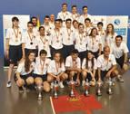 La cantera navarra de la Federación de Pelota Vasca, campeona de España