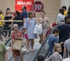 Los comerciantes esperan que las ventas aumenten un 5% en rebajas