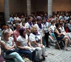 Pamplona recuerda a la joven Nagore Laffage en el 11º aniversario de su crimen