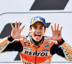Márquez vence en Sachsenring y suma su quinta victoria de la temporada