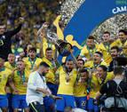 Brasil conquista su novena Copa América