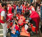 Un corredor herido en el encierro vuelve a rechazar el traslado a un hospital