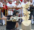 Juan Asín se impone en el XXI Trofeo San Fermín de Motosierras