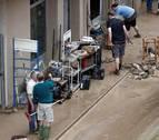 Tramitadas 102 solicitudes de ayuda por los daños de las inundaciones de Tafalla