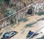 El Gobierno Foral solicitará hoy la declaración de zona catastrófica por las inundaciones