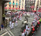 Parte de heridos del tercer encierro: los José Escolar dejan dos mozos contusionados