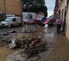 EN DIRECTO las inundaciones en Navarra: Tafalla solicita la declaración de zona catastrófica