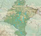 Inundaciones en Navarra: mapa de las zonas afectadas