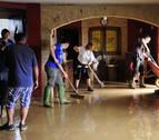 Clientes y dueños del restaurante El Maño tuvieron que ser rescatados en Pueyo