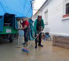 Las lluvias castigan cultivos y accesos en la Valdorba