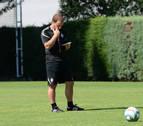 El balón, protagonista en la primera doble sesión de Osasuna
