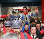 Pamplona se vuelca con Cayetano, con cuatro orejas de los excelentes cuvillos