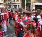 Parte de heridos del sexto encierro: los Núñez del Cuvillo dejan un corneado