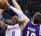 Nueva sorpresa en la NBA: los Rockets de Harden consiguen a Westbrook