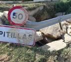 Alcaldes piden la limpieza de los cauces tras las inundaciones en la Zona Media