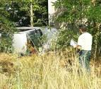 Un herido leve tras sufrir un accidente en la A-12 a la altura de Zizur