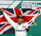 Victoria de Hamilton en el Gran Premio de Gran Bretaña