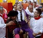 Los miuras cierran San Fermín con tensión y la cogida de Rafaelillo