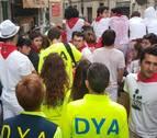 DYA Navarra ha atendido a 487 personas durante los nueve días de San Fermín