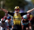 Mikel Landa pierde tiempo tras una caída en la décima etapa del Tour