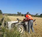 El agricultor fallecido tras caer del tractor era el encargado del Banco de Alimentos de Cascante
